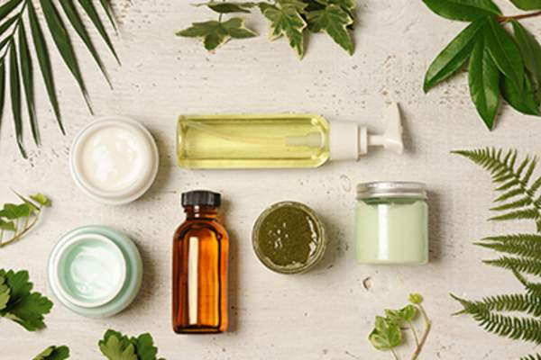 Natural skin care products.
