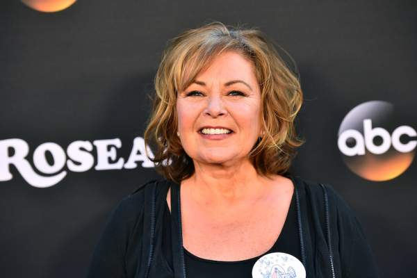 Roseanne Barr attends the premiere of ABC's 'Roseanne' at Walt Disney Studio Lot on March 23, 2018