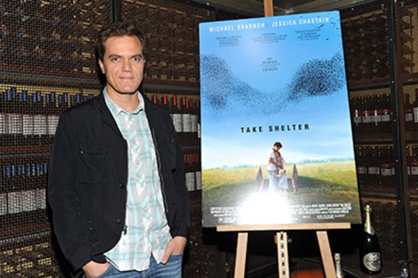 Actor Michael Shannon attends the 'Take Shelter' New York premiere at the 57th Street Screening Room.