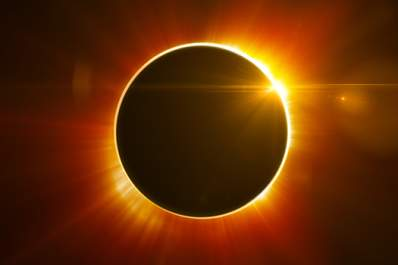 Solar eclipse.