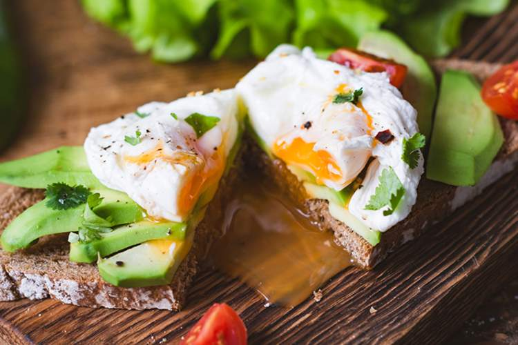 Egg and avocado are biotin-rich foods.