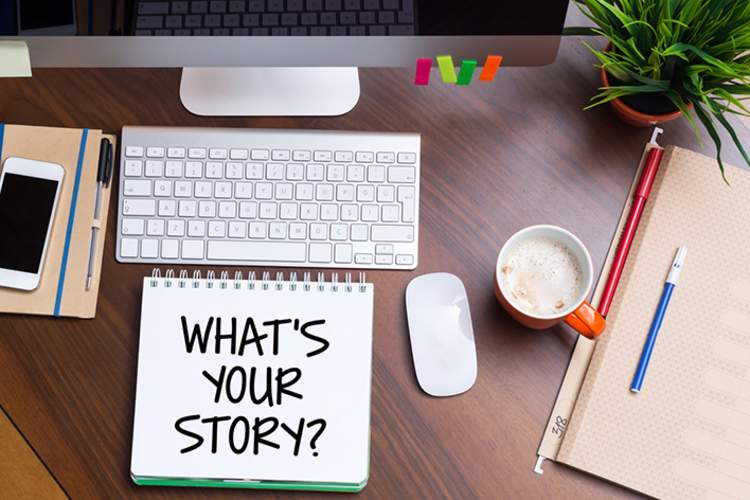 Share your story online, via social meeting, through written word.