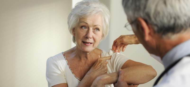 Treating Shoulder Pain with Needle Aspiration