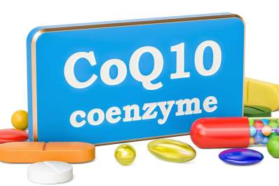 CoQ10 coenzyme supplements.