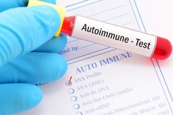 Blood test for autoimmune disorders