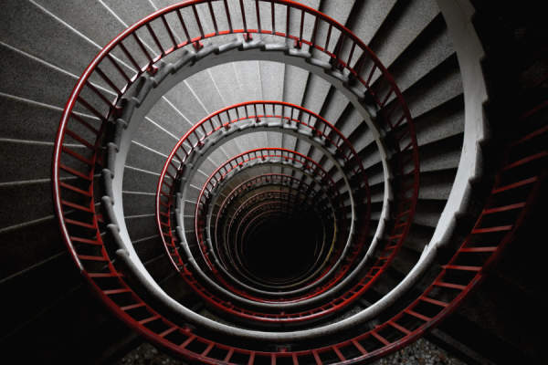 endless spiral staircase
