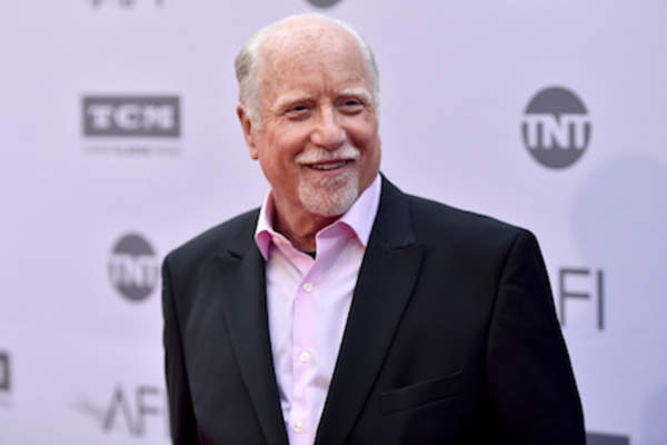 Actor Richard Dreyfuss arrives at American Film Institute's 44th Life Achievement Award Gala Tribute to John Williams.