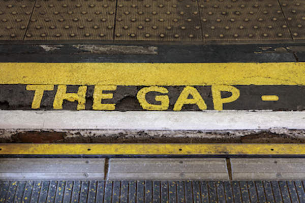 mind the gap, London Tube,