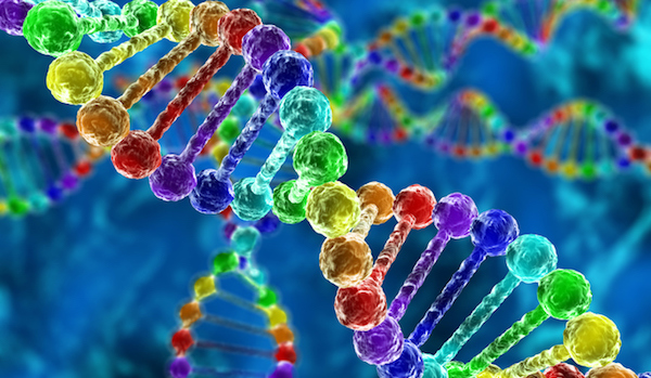 DNA double helix image for Ancestry Test Kits.