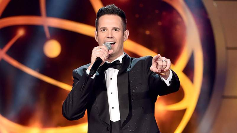 David Osmond speaks onstage during the 46th annual Daytime Creative Arts Emmy Awards at Pasadena Civic Center