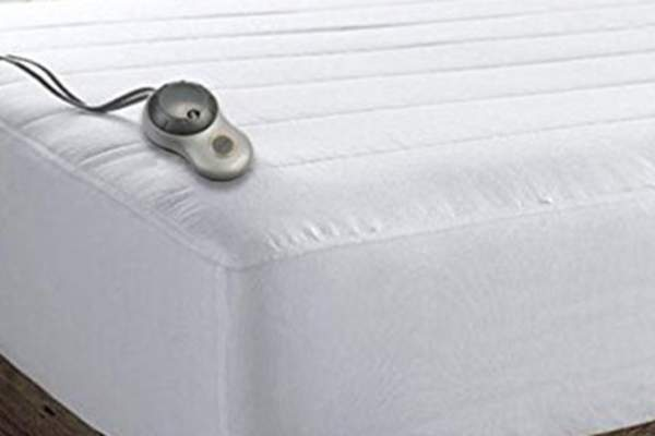 Heated mattress pad.