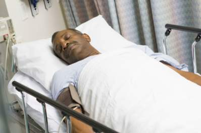patient feverish in hospital