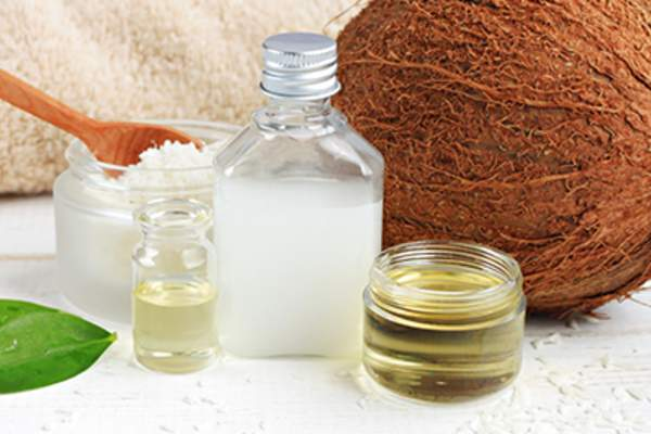 Coconut oil products.