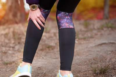 A runner has knee pain from a Baker's cyst.