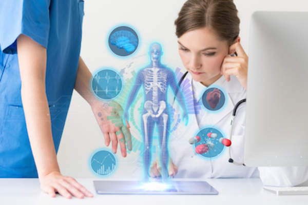 Medical technologies concept
