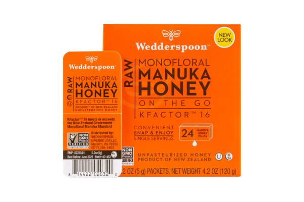 Wedderspoon honey packets