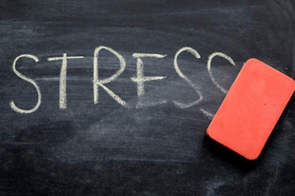 Set goals to help erase stress