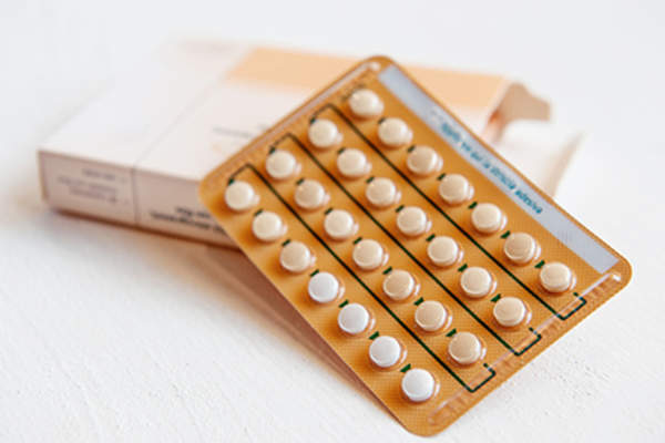 Contraceptive pills used to lower the risk of uterine cancer.