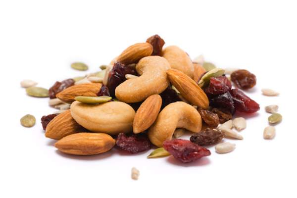 trail mix a healthy snack