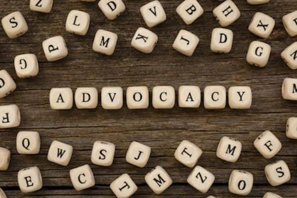 Advocacy spelled out
