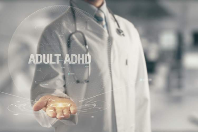 Adult ADHD concept
