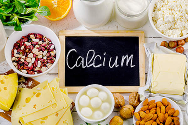 Sources of calcium.