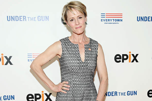 Actress Mary Stuart Masterson attends Under the Gun NY Premiere Event.