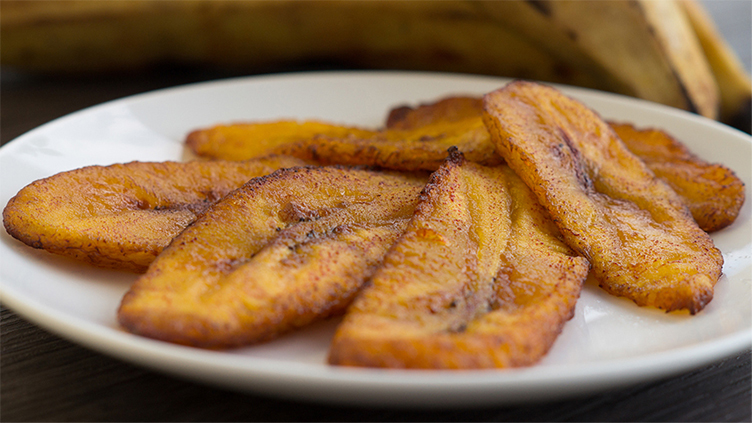 Grilled plantains.