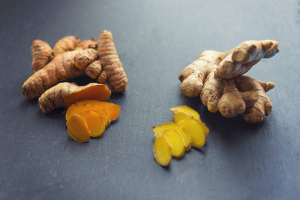 tumeric and ginger