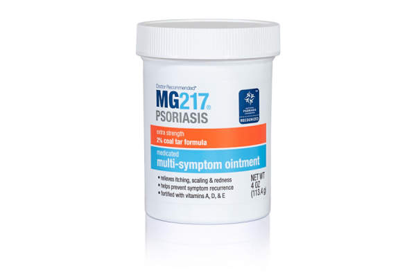MG217 Psoriasis Treatment, Medicated Conditioning 2% Coal Tar Multi-Symptom Ointment