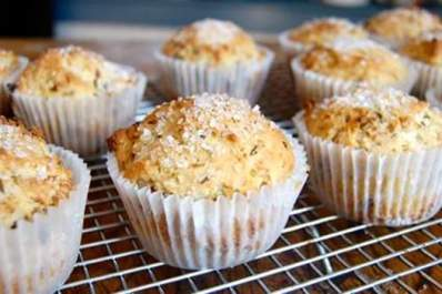 Irish soda bread muffins.