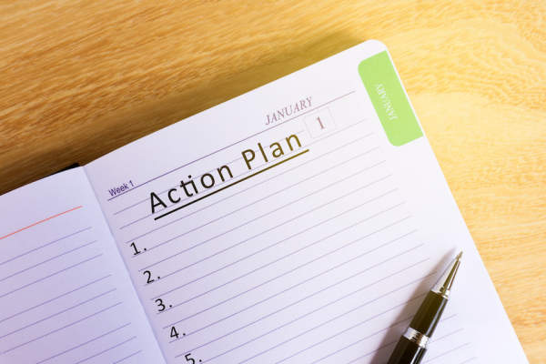 Action plan notebook