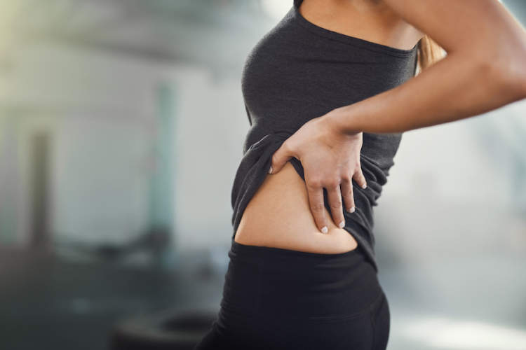 lower back pain on one side