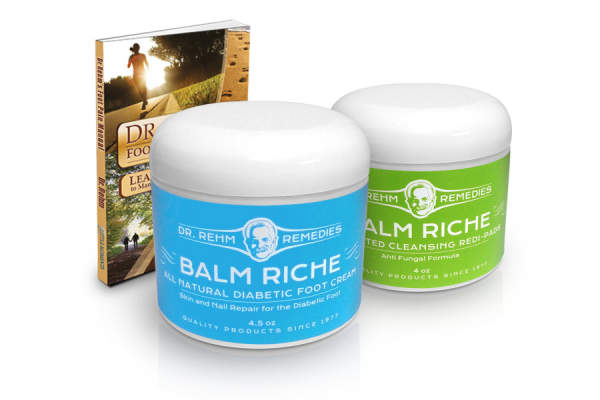 Dr. Rehm's Balm Riche Natural Foot Cream