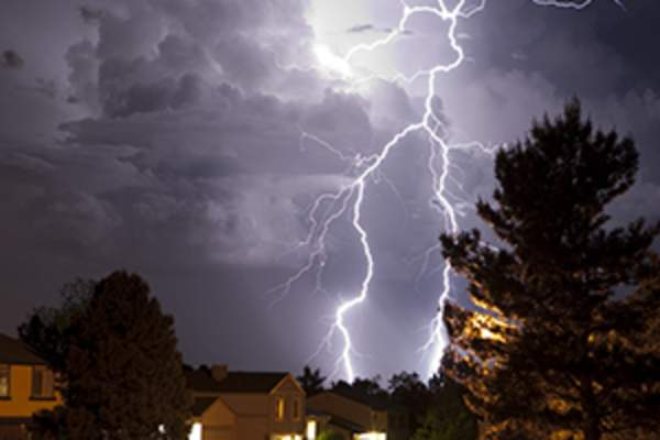 thunderstorm image