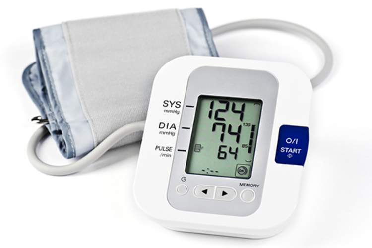 Blood pressure monitor.