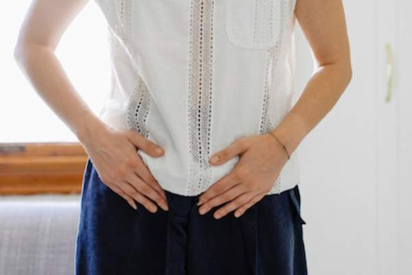 Pelvic pain a sign of tumor growth.