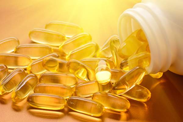 Vitamin D softgels