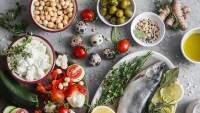 地中海食物。