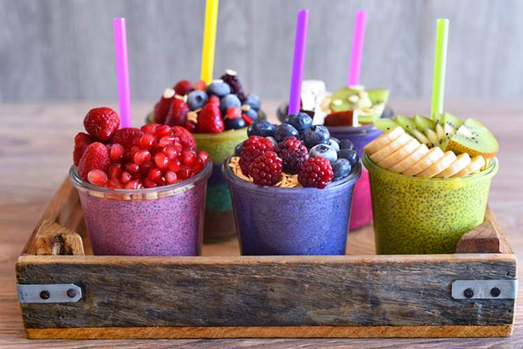 Thyroid-friendly smoothies.