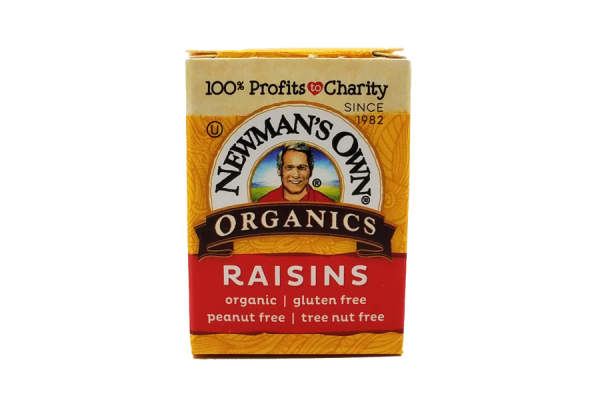 Newman's Own .5 oz box of raisins