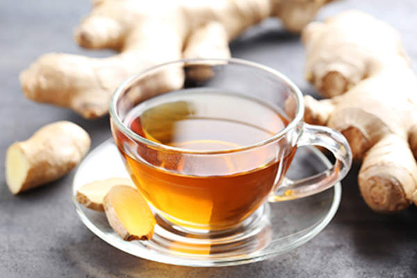 Ginger tea.