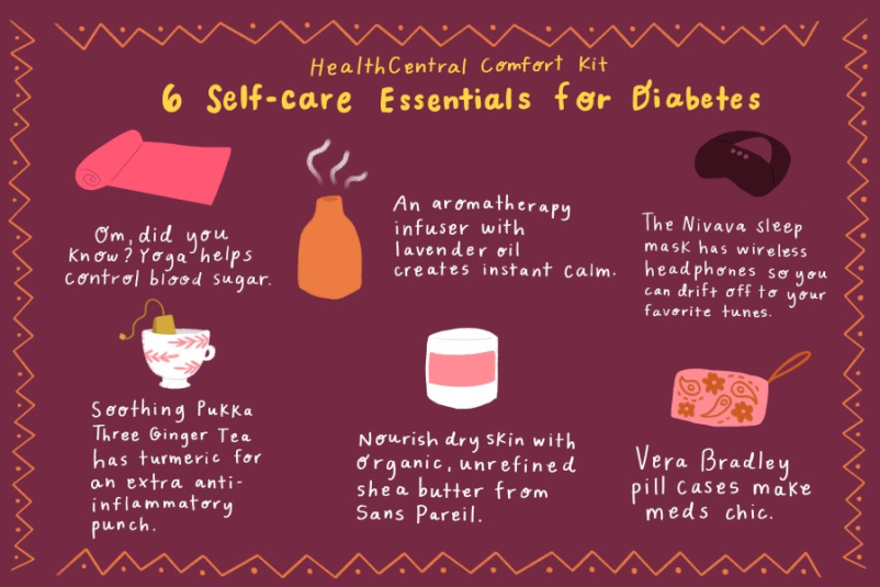 holistic diabetes infographic