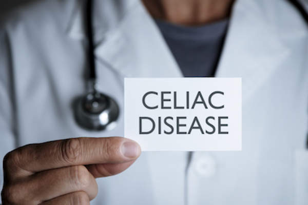 doctor diagnosis celiac disease.