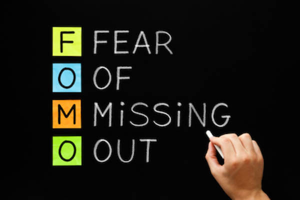 FOMO, acronym spelled out