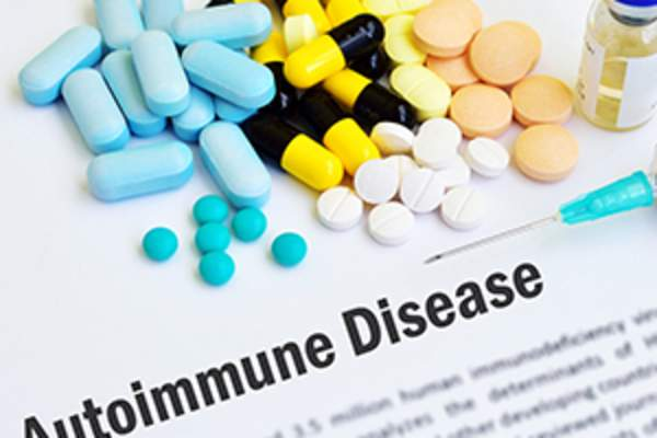 Autoimmune disease and medications.