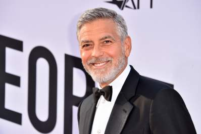 George Clooney attends American Film Institute's 46th Life Achievement Award Gala Tribute to George Clooney at Dolby Theatre on June 7, 2018.
