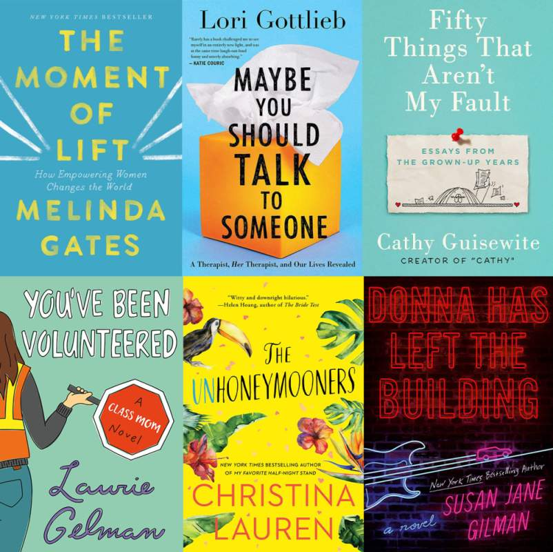 uplifting summer reads book covers
