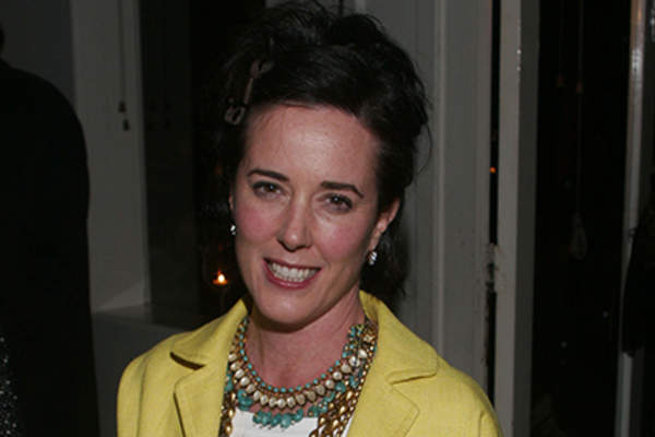 Curator Kate Spade attends a gallery exhibition of photographer Slim Aarons' work.