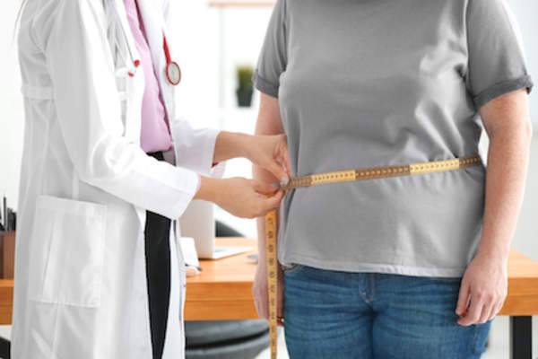 Obesity can be a major contributor to back pain.
